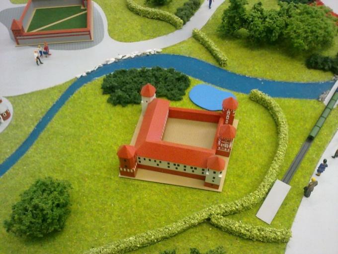 Как сделать макет парка