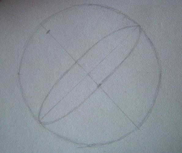 Как нарисовать <strong>шар</strong> <b>карандашом</b>