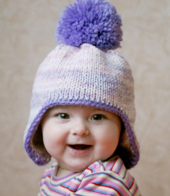 How to knit children's winter hats