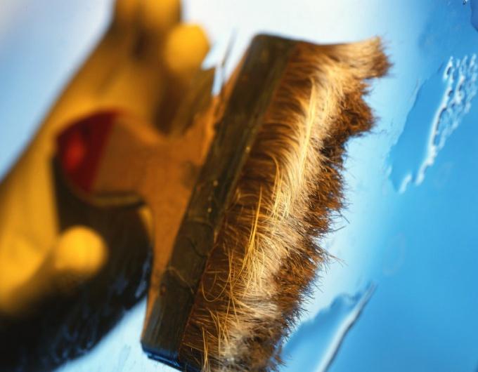 Как отмыть ветхую краску