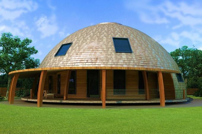 Как возвести купольный дом