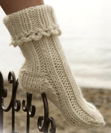 Как быстро связать носки