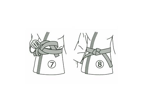 Как завязывать <b>пояс</b> <strong>кудо</strong>