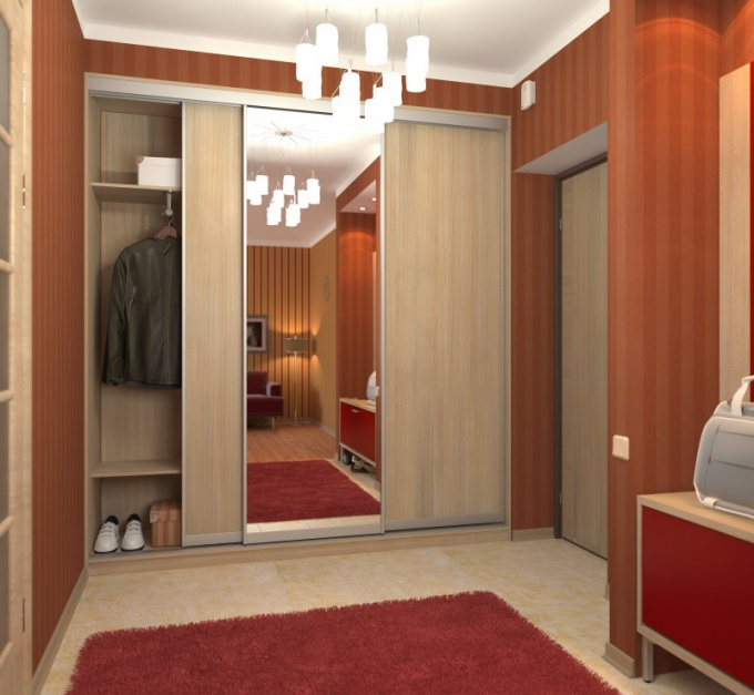 How to build a wardrobe in a niche
