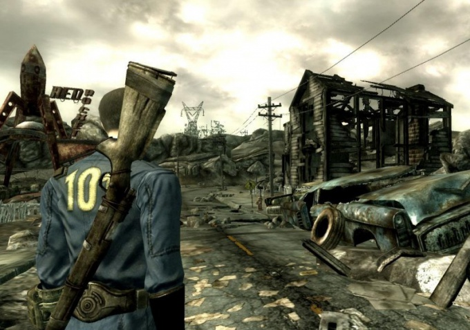 How to change resolution Fallout 3