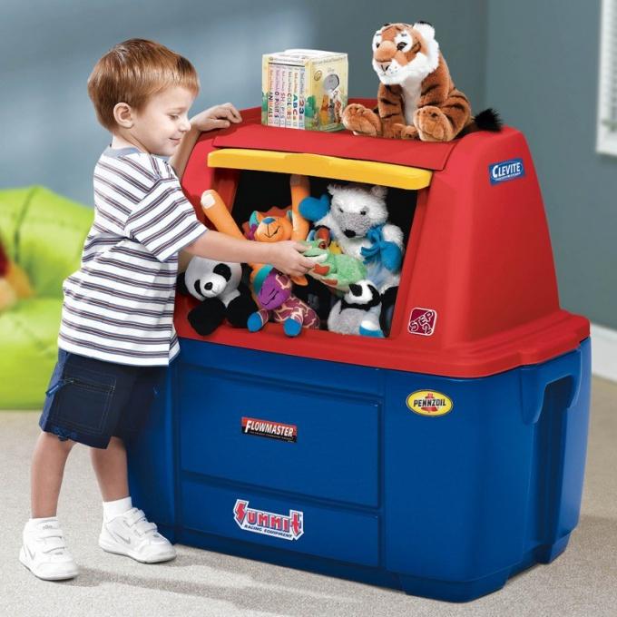 Куда складывать игрушки
