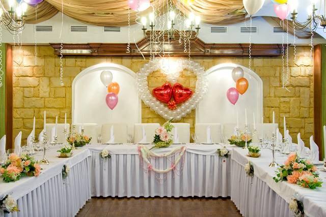 Как украсить кафе к свадьбе