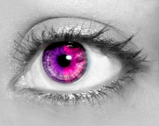 Как в Фотошопе сделать глаза другим цветом