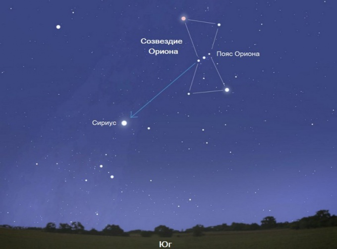 How to find Sirius in the sky