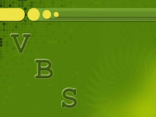 How to write a script vbs