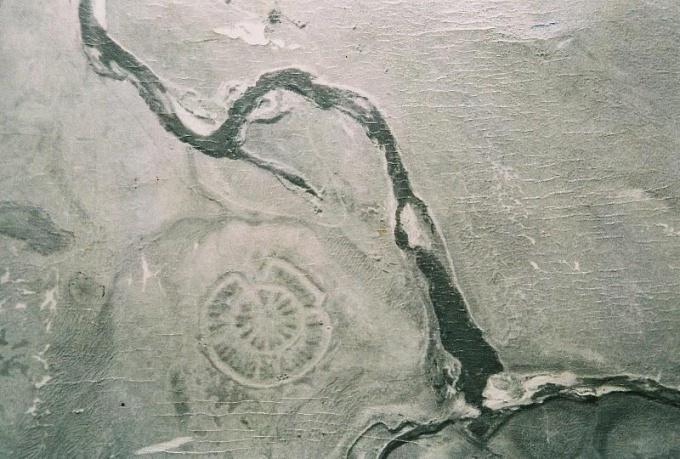 Аэрофотосъемка города Аркаим
