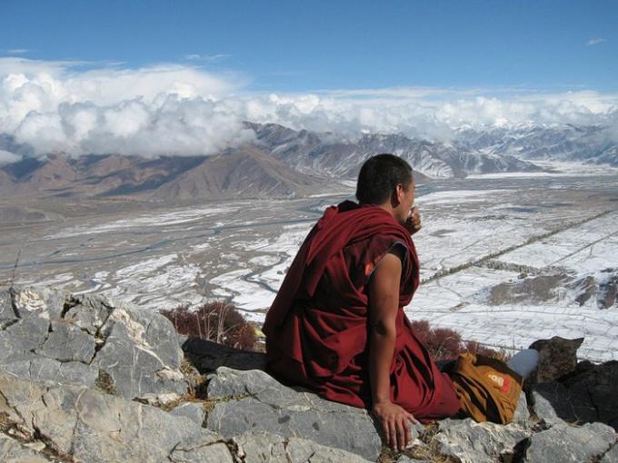 Тибетский монах в поисках Шамбалы
