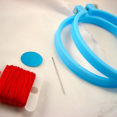 "How to stitch ""back needle"""