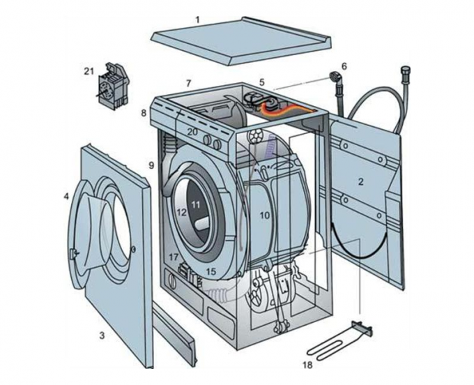 Программатор стиральной машины своими руками
