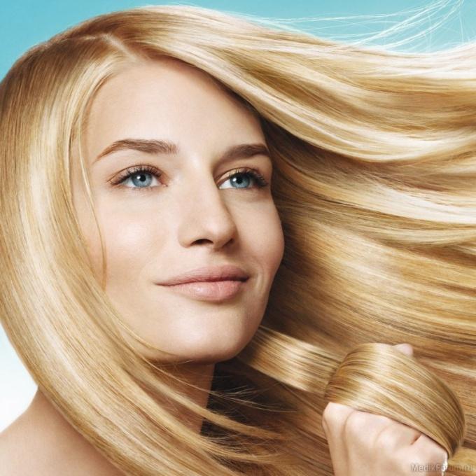 How to straighten hair folk remedies