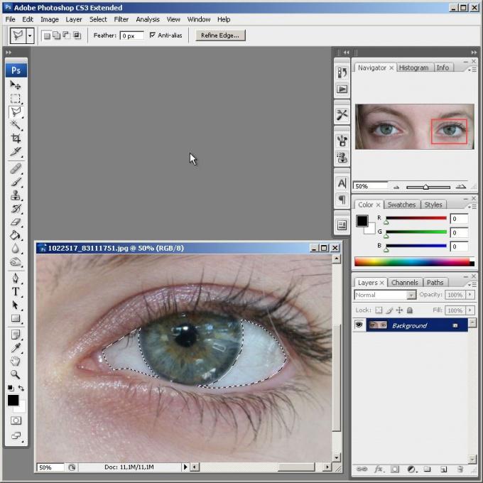 Как сделать красивые <b>глаза</b> на фото