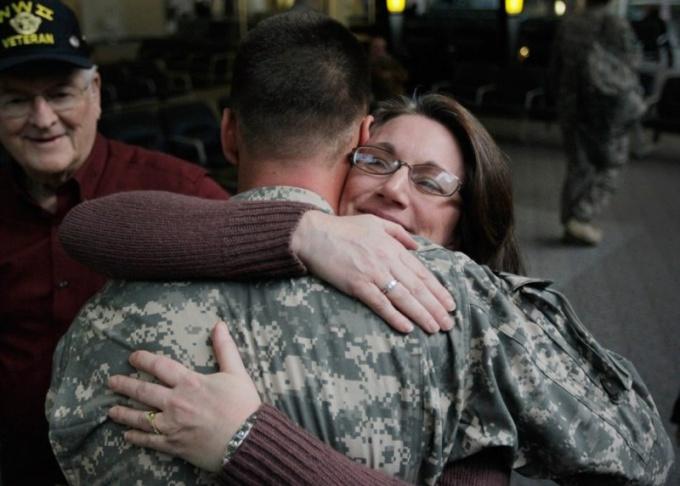 Как встретить солдата из армии