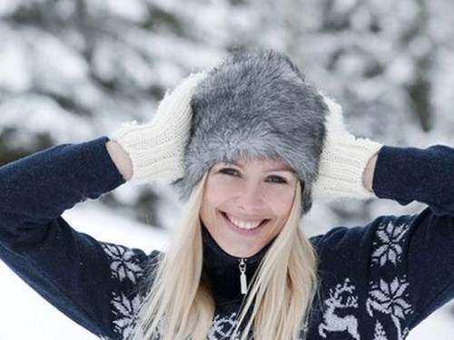 How to be beautiful with the beginning of winter