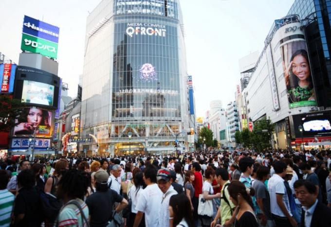 Деловой и развлекательный центр Сибуя в Токио: http://citypics.ru/wp-content/uploads/2011/10/130.jpg