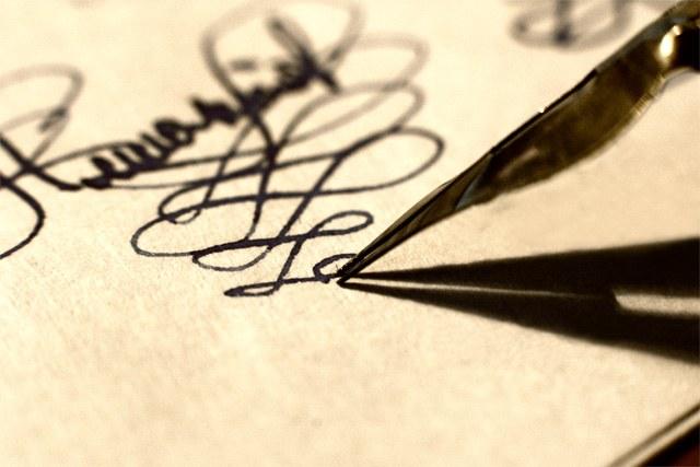 Как выработать красивый почерк