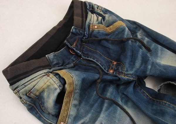 How to decorate old jeans