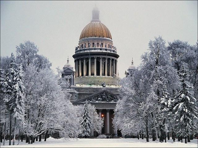 Куда сходить в Санкт-Петербурге зимой
