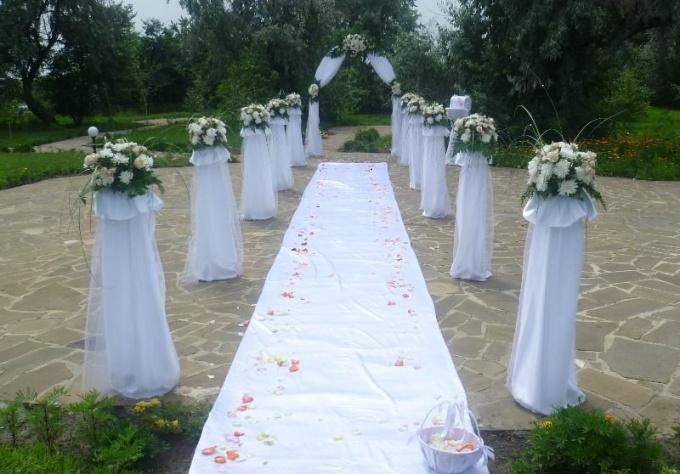 Как организовать выездное бракосочетание