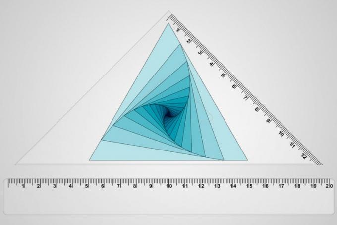 Как обнаружить длину высоты в равнобедренном треугольнике
