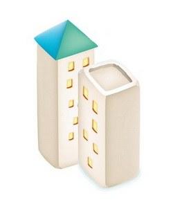 Как нарисовать многоэтажный <strong>дом</strong>