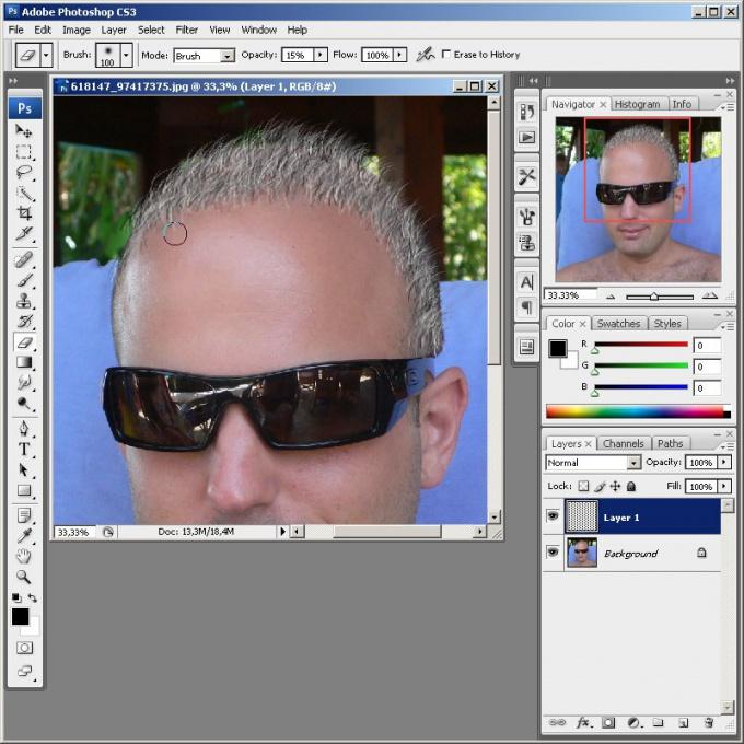 Как в <b>фотошопе</b> добавить <strong>волосы</strong>