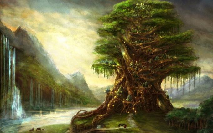 Как нарисовать дерево поэтапно