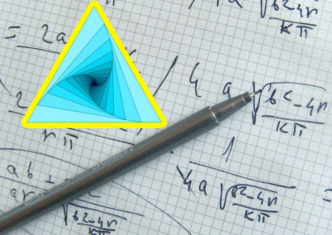 How to find angles when you know the lengths of the sides of a triangle