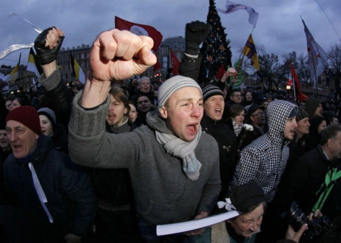 Как выступать на митинге