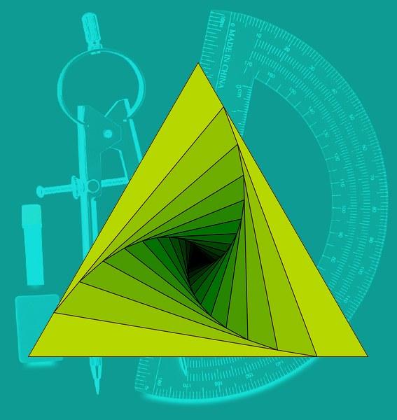 Как нарисовать равносторонний треугольник