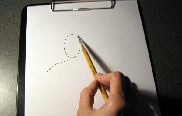 Как нарисовать стоящего человека