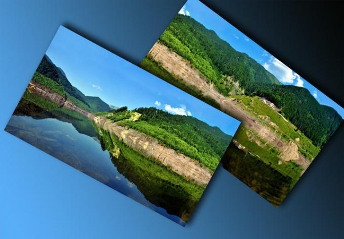 Как в Фотошопе объединить две фотки