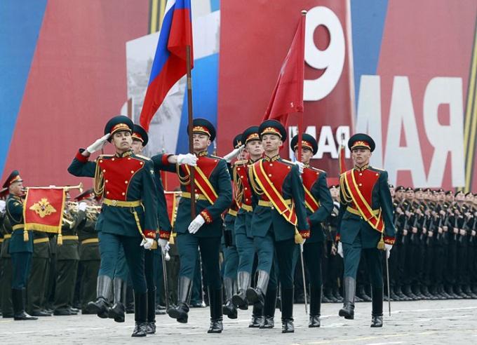 Где посмотреть парад на День Победы
