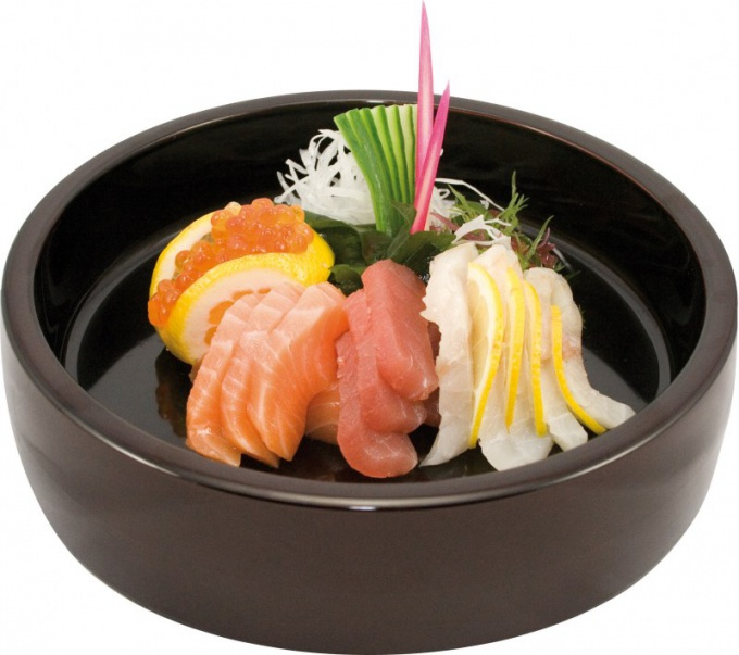 Like eating raw fish