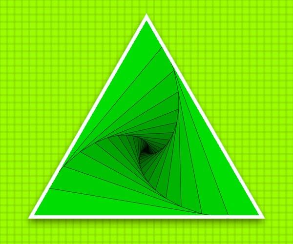 Как найти площадь треугольника по трем точкам