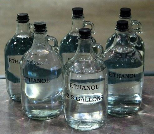 Как определить этанол