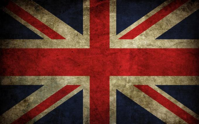 Как нарисовать британский флаг