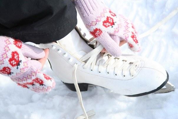 Как не замерзнуть на катке