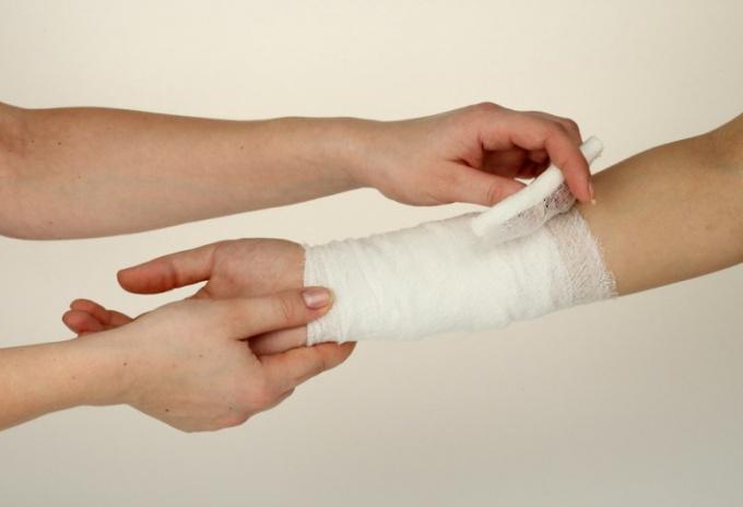 Как обматывать руки бинтом