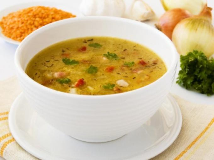 Как приготовить постный суп