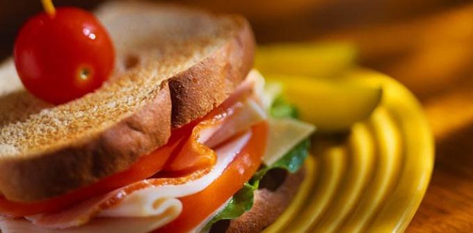 Как оформить бутерброд