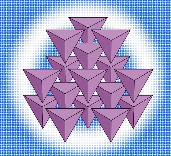 Как найти рёбра основания тетраэдра