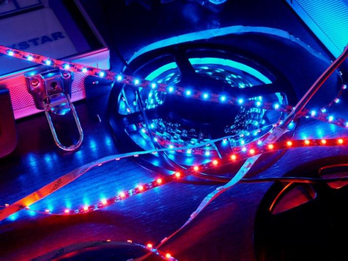 Как включить светодиодную подсветку