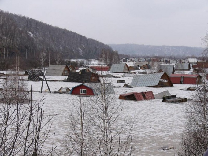 Как вести себя при наводнении