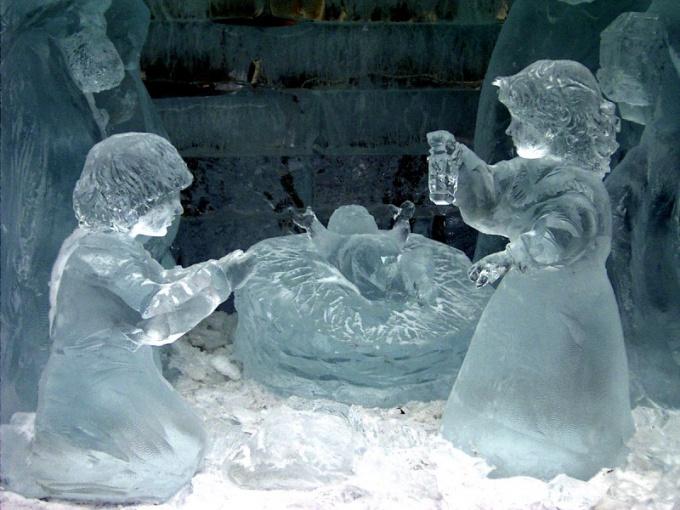 Как сделать фигуру изо льда