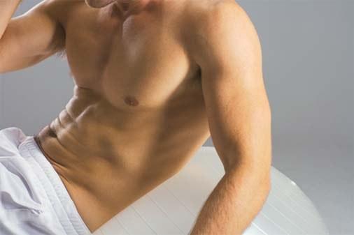 Как избавиться от жира на животе мужчины
